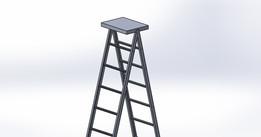 ladder - Recent models | 3D CAD Model Collection | GrabCAD