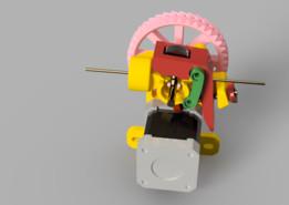 Geared extruder v.3