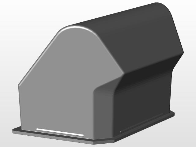 HONDA PIONEER 500 GLOVE BOX | 3D CAD Model Library | GrabCAD