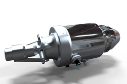Keyshot Rendering Turbojet Engine TJE500FH
