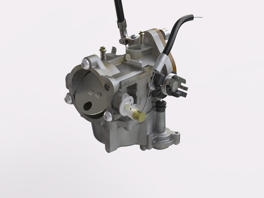 Keihin-Carburetor | 3D CAD Model Library | GrabCAD