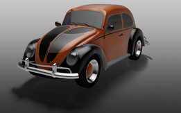 Beetle car (Herbie)
