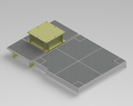 Jib Base with Floor plates