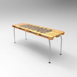 Slim Palete Table