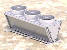 Condensator 3 fans