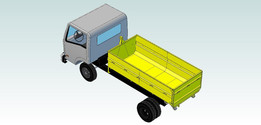 Skip Bin truck Loading
