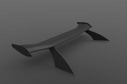 Rear wing S821 Aerofoil (designed with advanced aerodynamics)