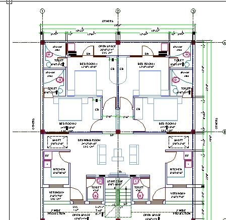 House design autocad 3d cad model grabcad House cad drawings