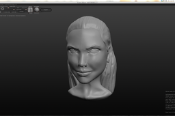 Speed Art Modeling 3D – Angelina Jolie
