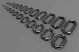 Welded Link Chain-DIN 5685 (All sizes are available)