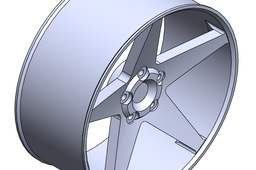 "Solidworks 17"" Rim Tutorial"