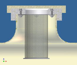 filtro para bidon de resina
