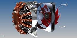 CPU Fan Concept