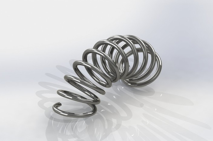 Tutorial: how to model a bent spring in SolidWorks (for analysis and stuff)