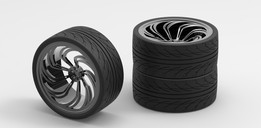 Low Profile Tyre N Alloy 2