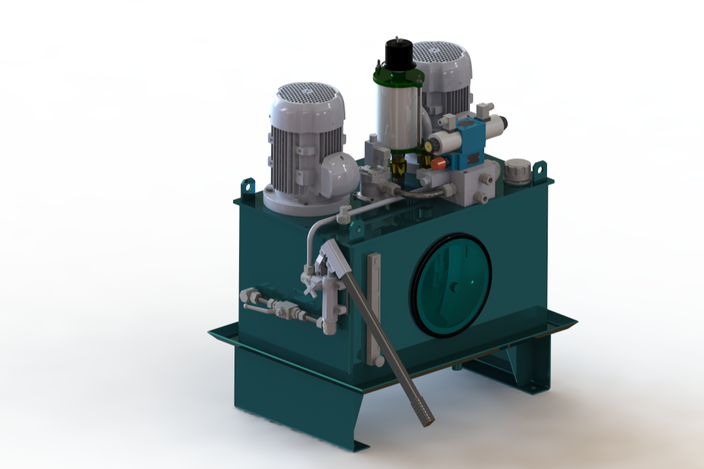 hydraulic power unit 100L