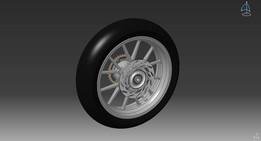 KTM DUKEII Rear wheel