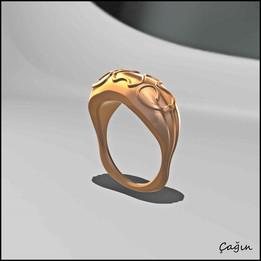 convex ring design Solidworks