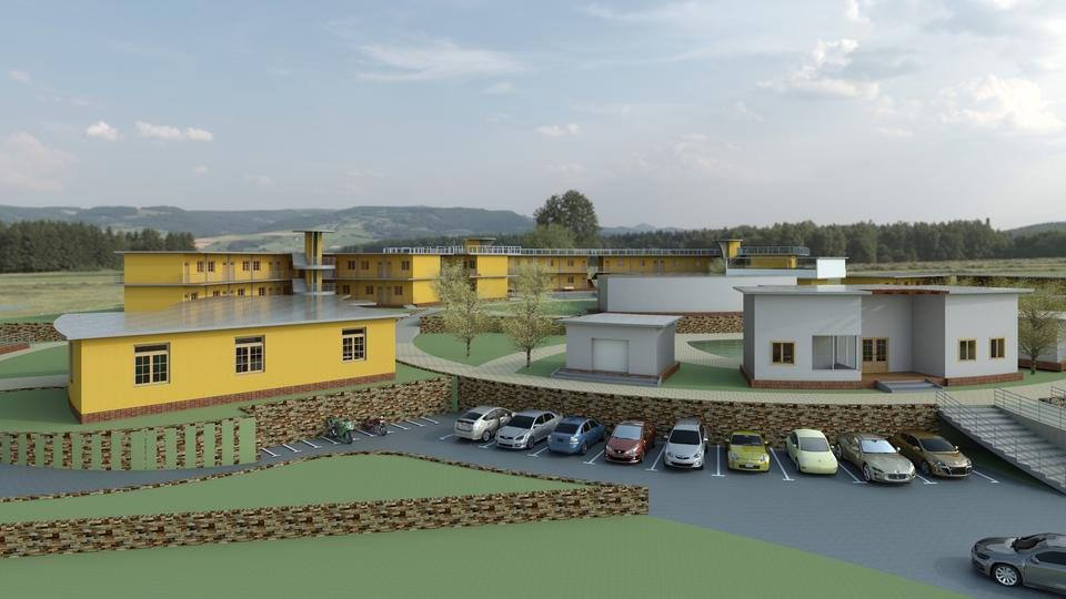 old age health care centre(home for aged peaple) - Autodesk Revit ...