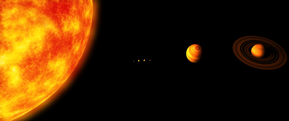 Solar system scale model   3D CAD Model Library   GrabCAD