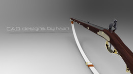 Flintlock longrifle