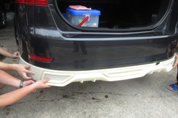 Ford Mondel rear lip
