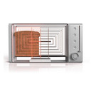 Contemporary Glass Toaster