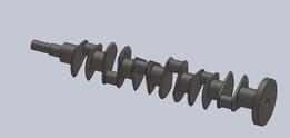 v12 engine crankshaft