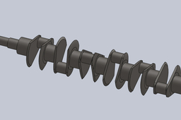 v12 engine crankshaft