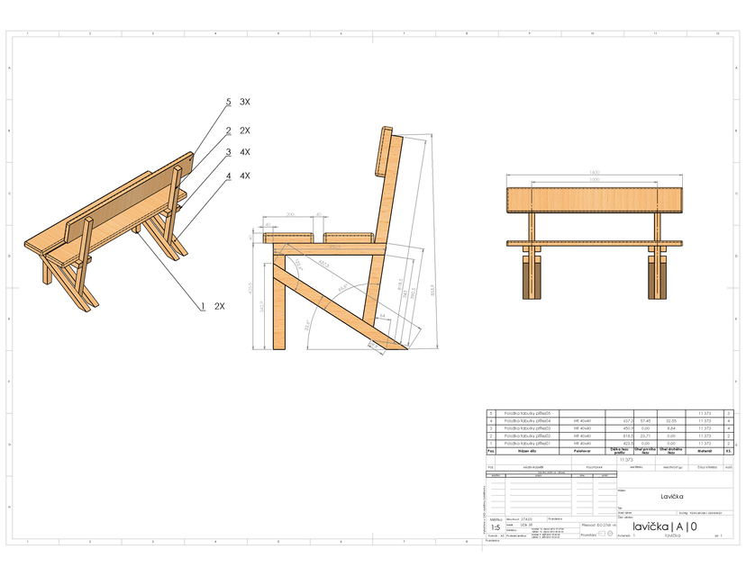 Excellent Simple Wood Bench 3D Cad Model Library Grabcad Ibusinesslaw Wood Chair Design Ideas Ibusinesslaworg