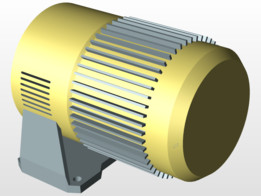 motor outer casing