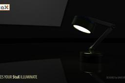 StaX Design 8 Lamp