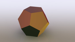 Dodecahedron - only 6 features