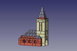 Church in Waldliesborn (Germany)