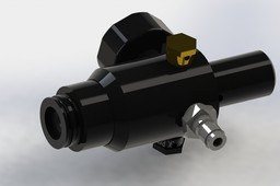 Regulator for PCP airgun or paintball