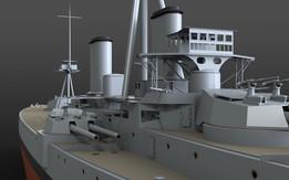 Battleship HMS Dreadnought - Update 1