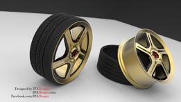 Car Wheel (ABL-R01 Rim)