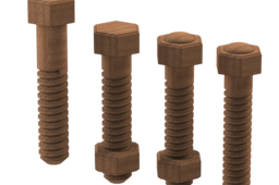 """1/2"""" Wood Nuts and Bolts"""