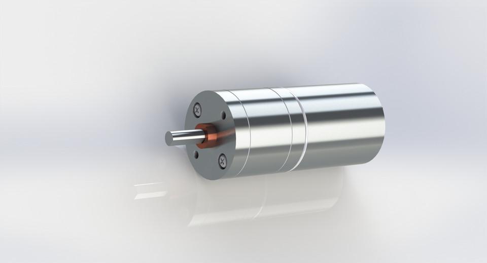 12V DC 100RPM High Torque Electric Motor | 3D CAD Model