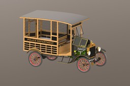 Model T Paddy Wagon