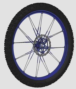 Front wheel Crankbrothers Iodine