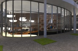 psagot tower lobby design
