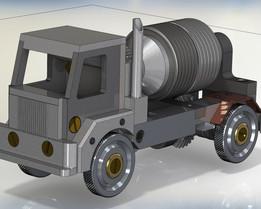 Concrete Mixer Truck SENAI