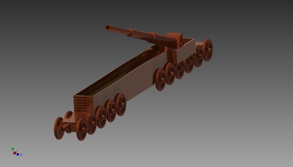 8. 1a model train | 3d cad model library | grabcad.