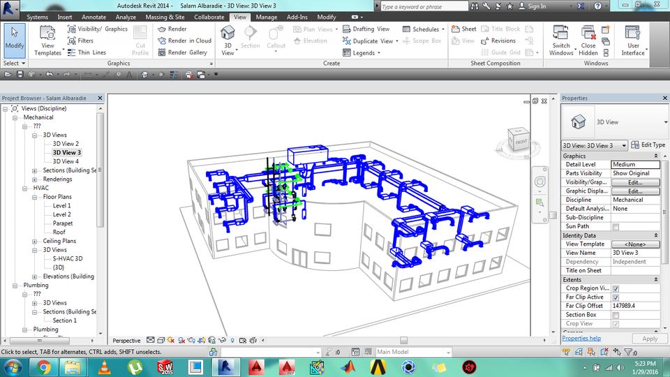 MEP Using Revit 2014 | 3D CAD Model Library | GrabCAD