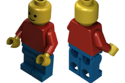 Classic Lego Man