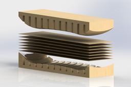 Skateboard Compression Mold