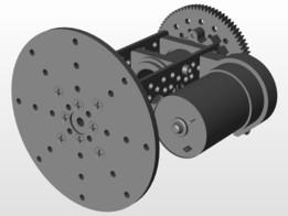 ServoCity Products: Gear Drive Pan Kit A