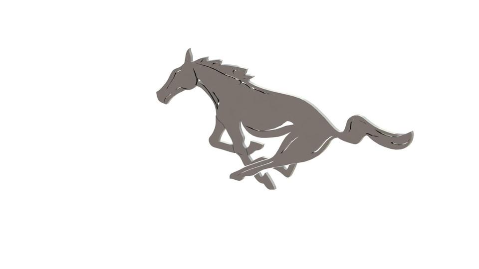 Mustang Horse 3d Cad Model Library Grabcad