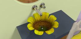 sunflower sink